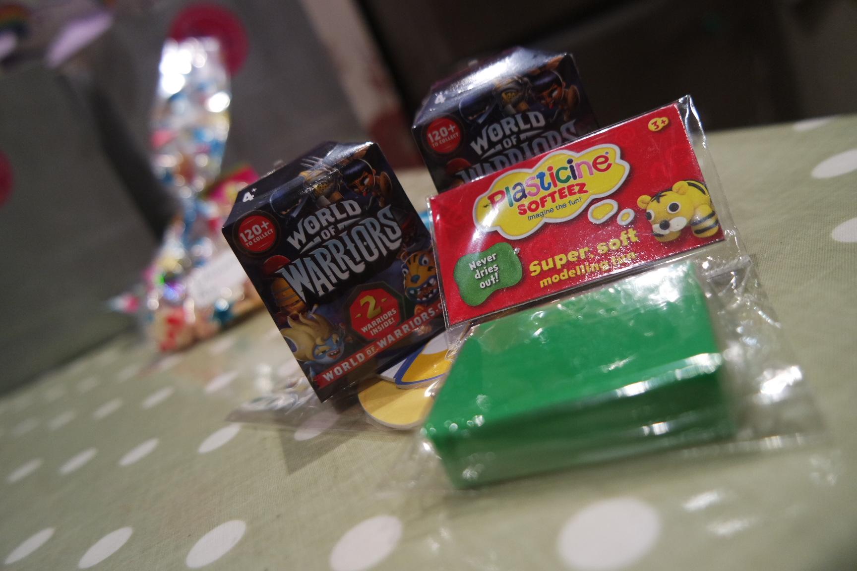 Isla's Plasticine & Unicorn themed birthday party
