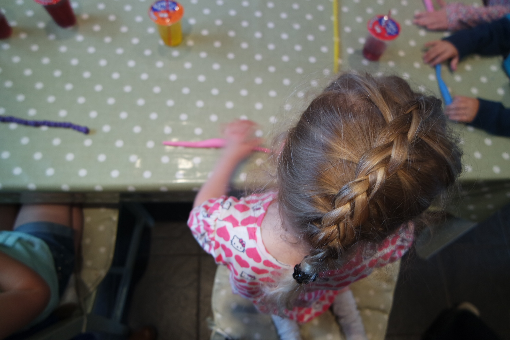 Isla's Plasticine & Unicorn themed birthday party
