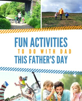 Fun activities to do with Dad this Father's Day