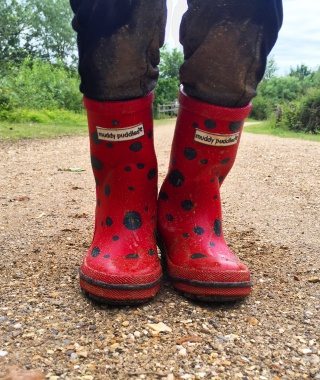 Tell us how wild your child is and win with Muddy Puddles