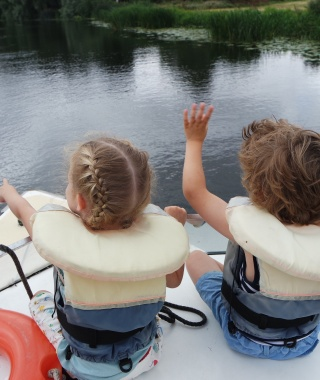A little boat trip on the River Ouse