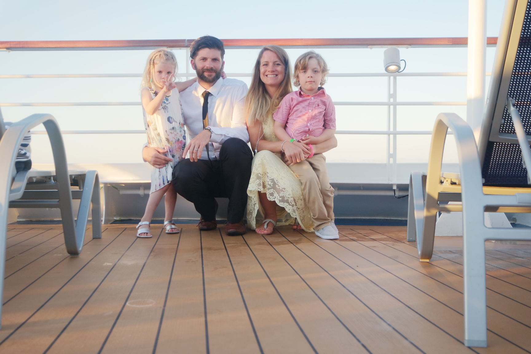 Our family moments on Carnival Vista