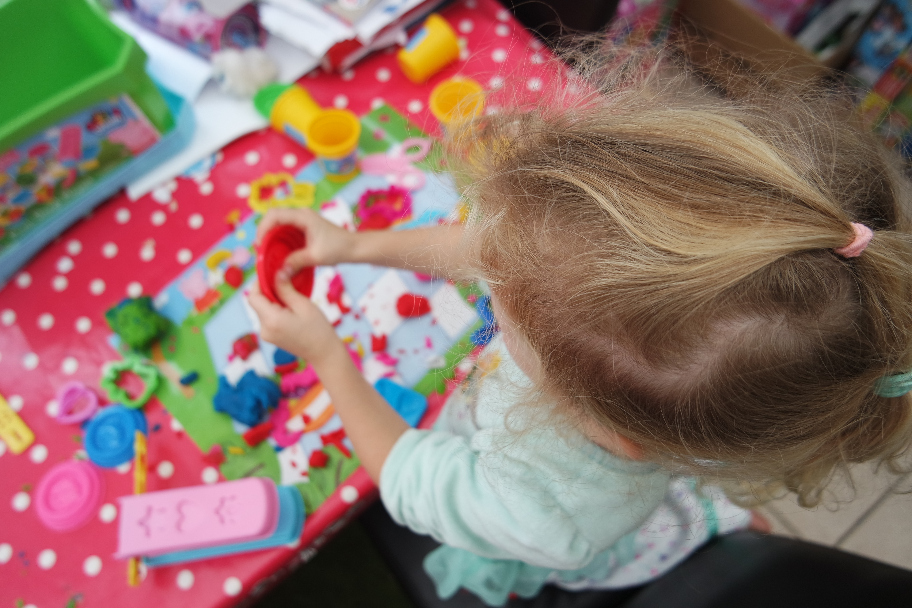 Peppa Pig Craft: Softee Dough Picnic Playset