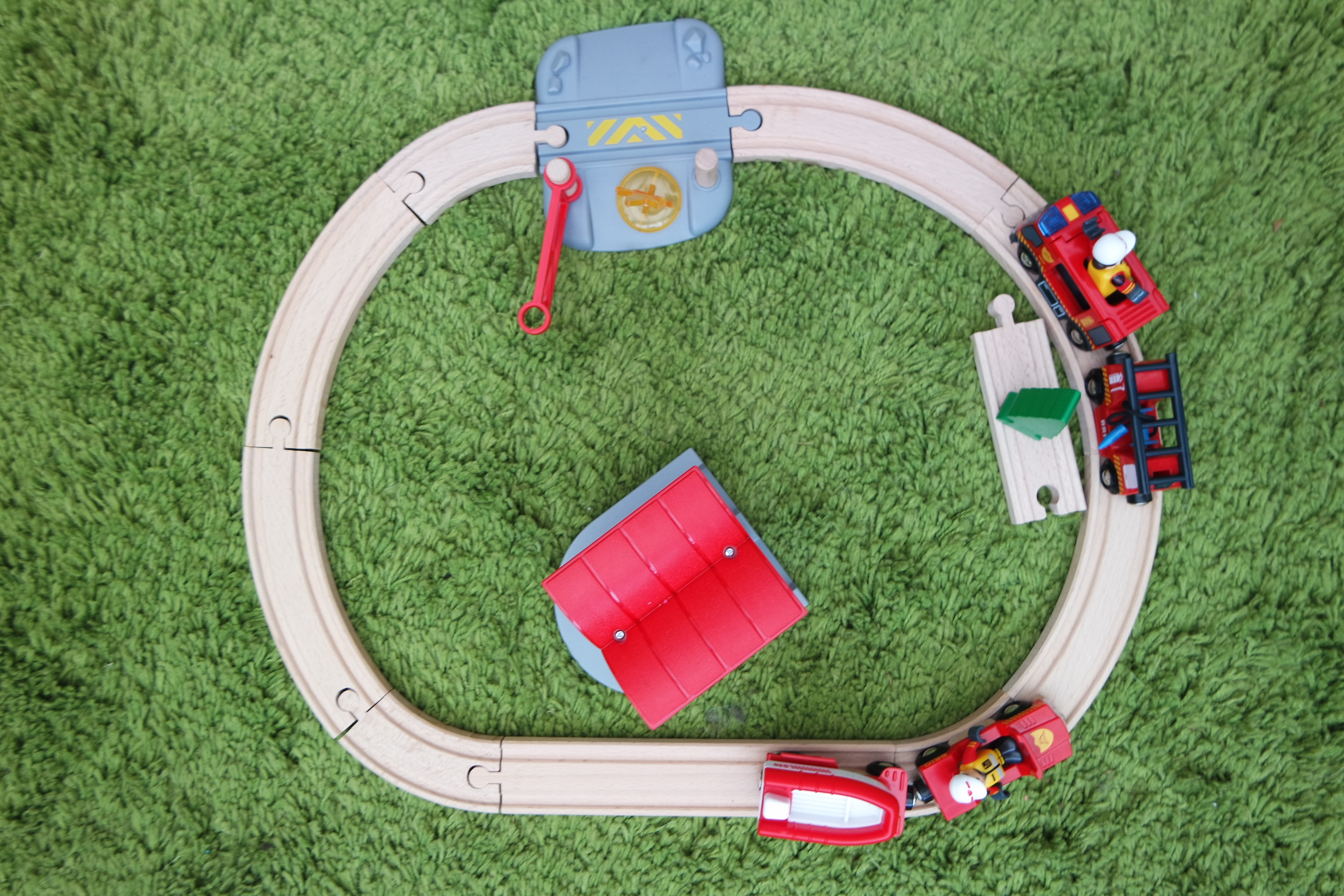 BRIO fire and rescue wooden toys