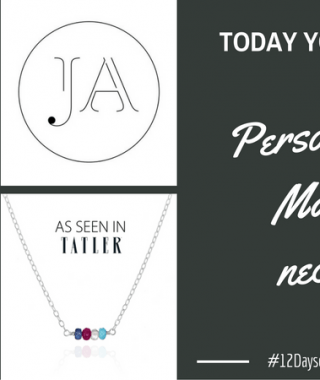 Day 8 – Win a personalised Matilda necklace #12DaysofConstantChristmas