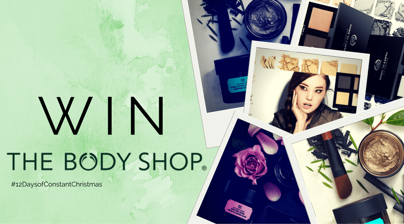 Day 12 – Win big with The Body Shop #12DaysofConstantChristmas