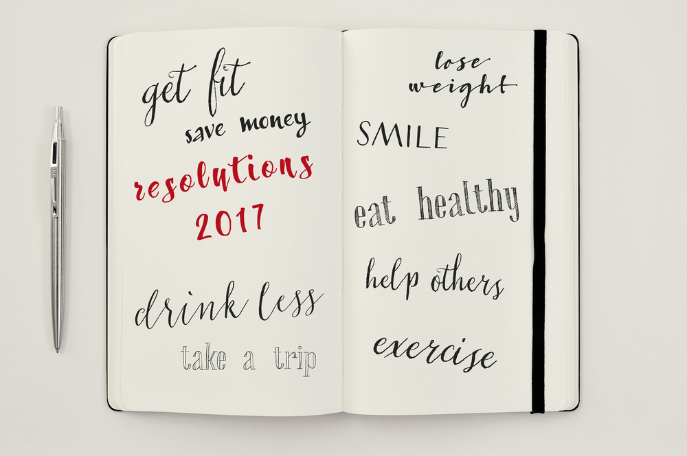 My New Year resolutions that I really intend on keeping