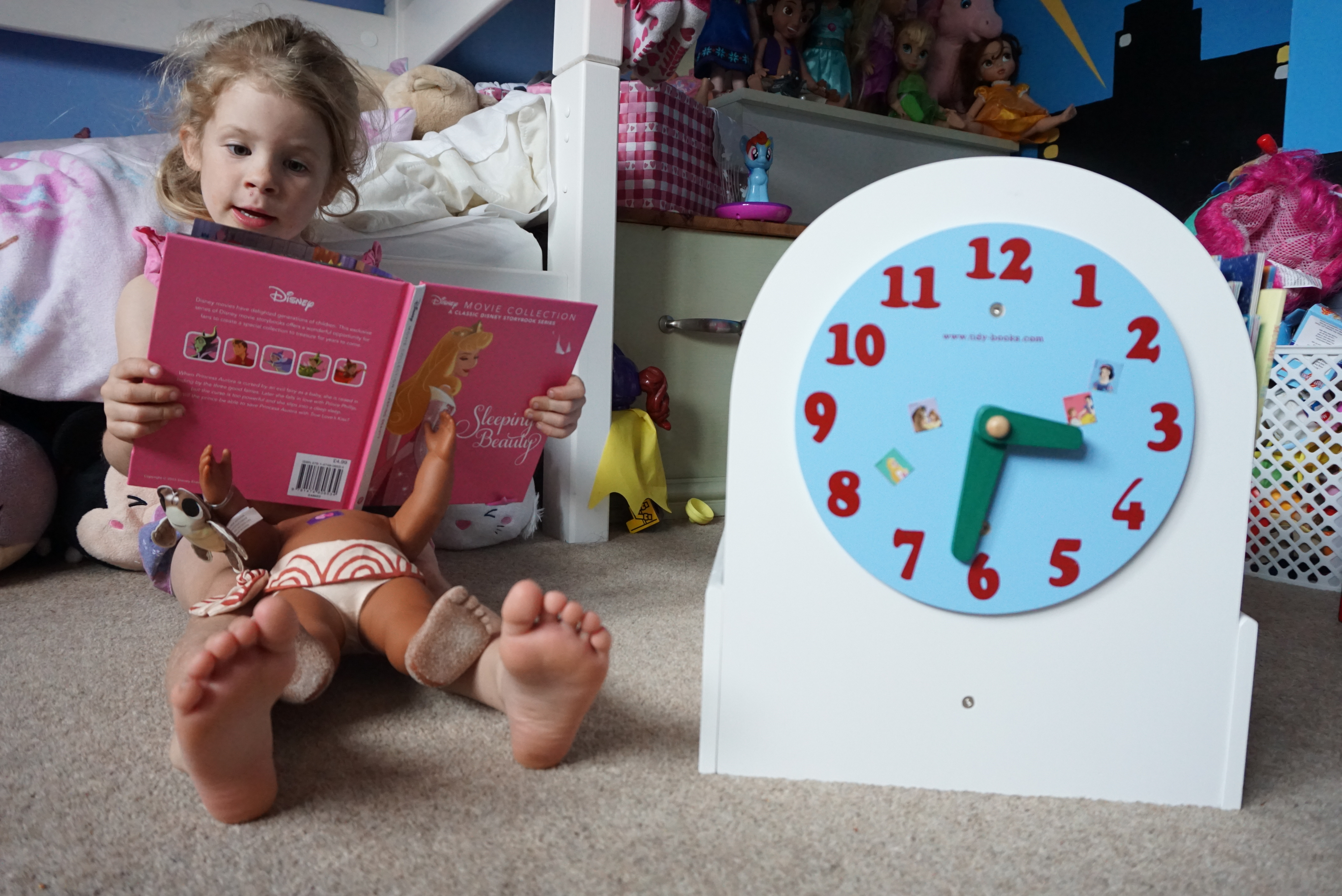 Creating a space for your little readers with Tidy Books