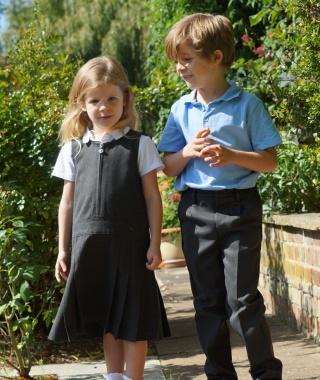 Getting school uniform ready with John Lewis
