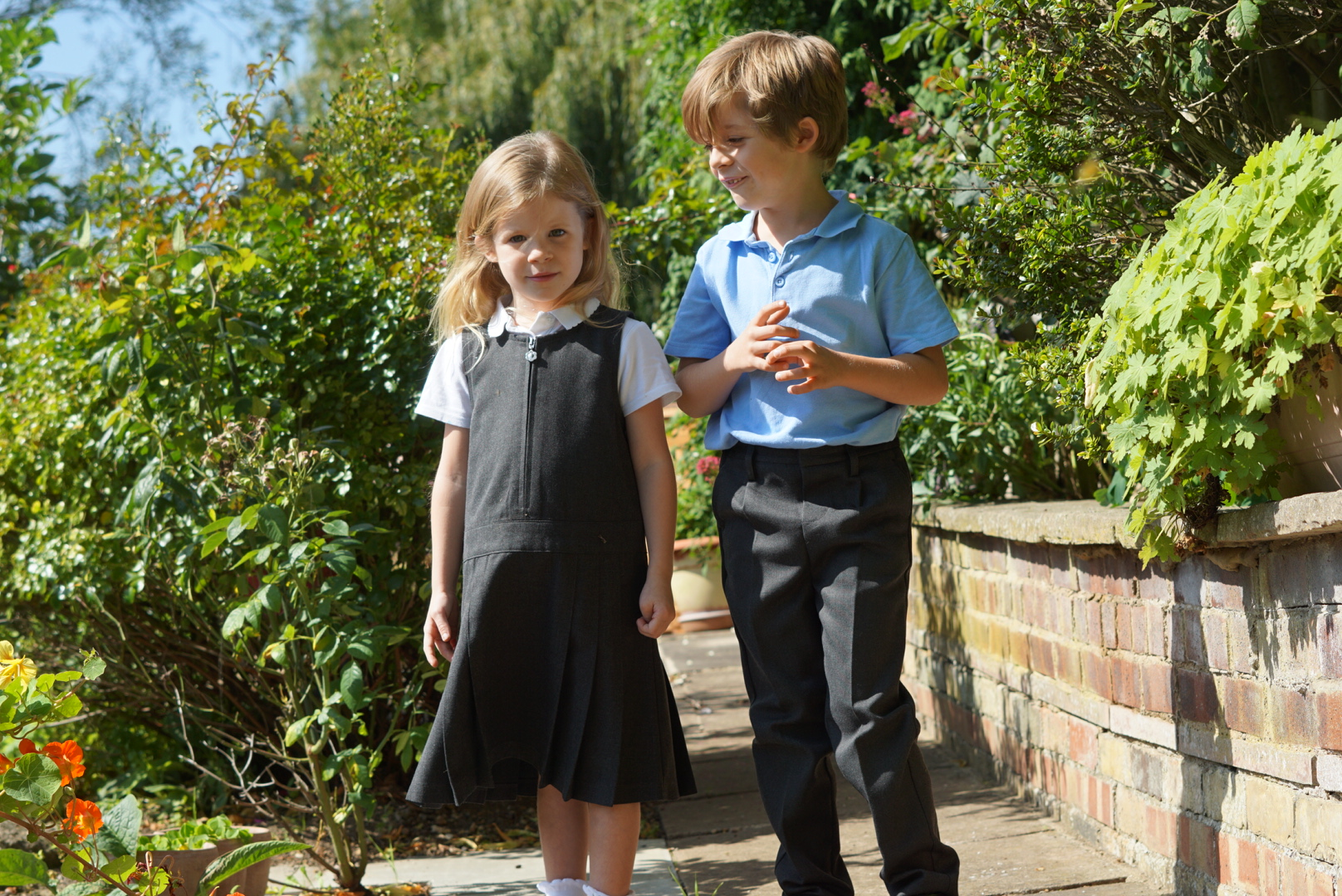 Getting school uniform ready with John Lewis