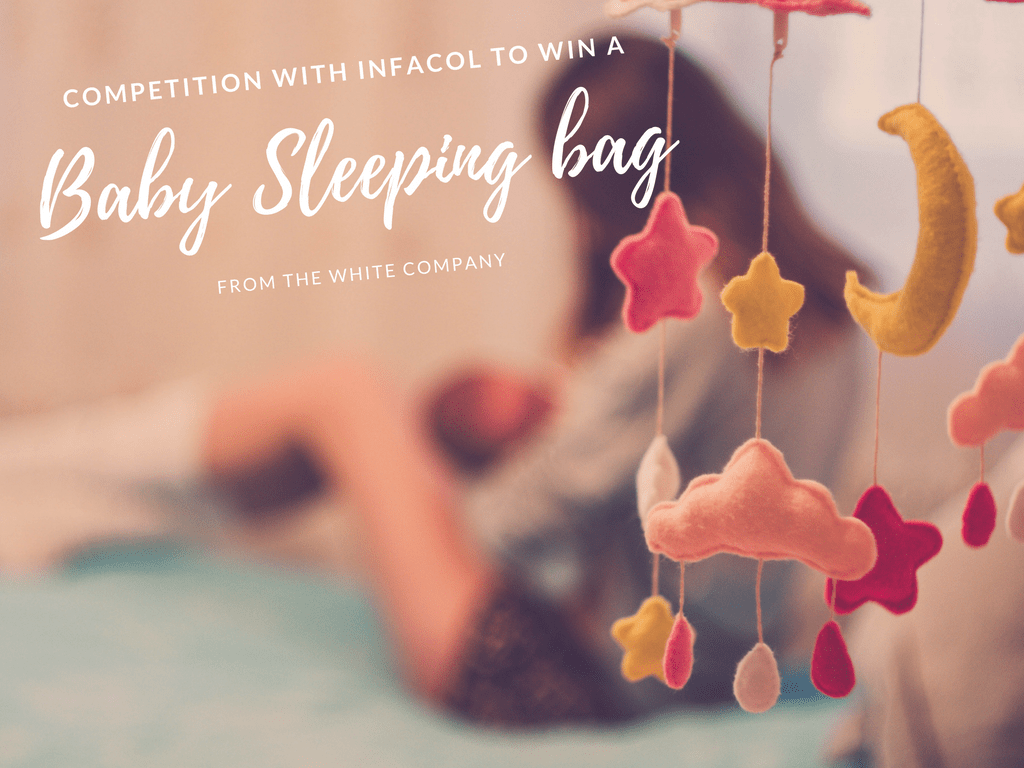 Win a baby sleeping bag and raise awareness about infant colic