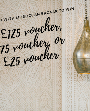 Win a voucher to spend at Moroccan Bazaar worth up to £300