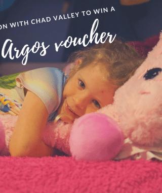 Win a £75 Argos voucher #ChadValley #GetitToday