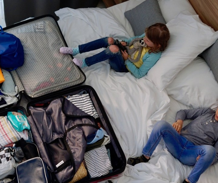 What to pack when travelling abroad with the kids
