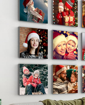 Capturing family memories on personalised photo gifts