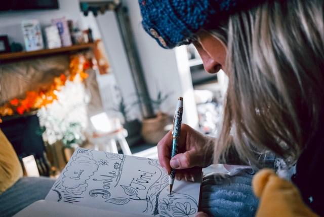 Journal doodling