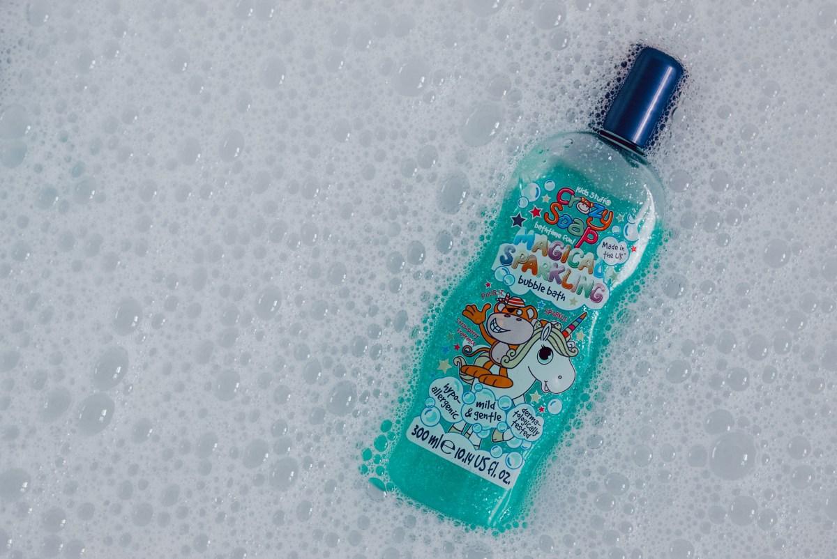 magical sparkling bubble bath