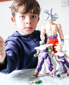 The new Dragon Ball figures #ToyReview #ad