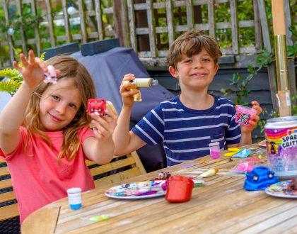 Fun Summer Holiday creative play #PoopsieTimeforSlime