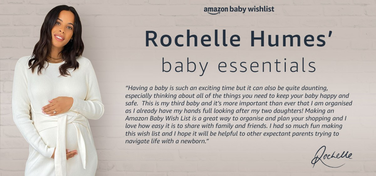 Rochelle Humes' Baby Essentials