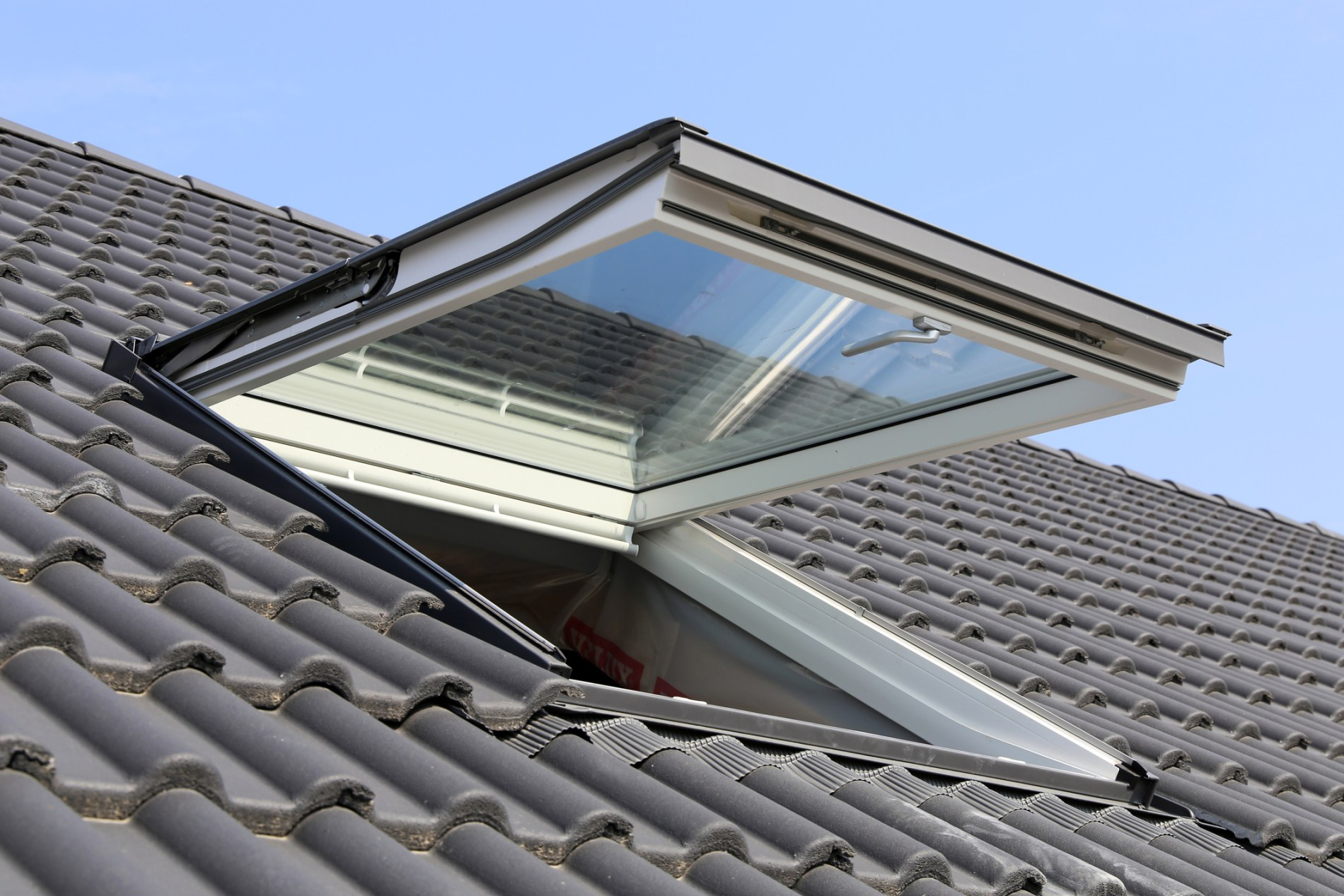 pitched roof window