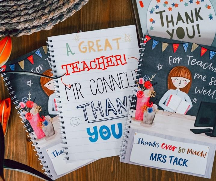 How parents can express thanks to a teacher
