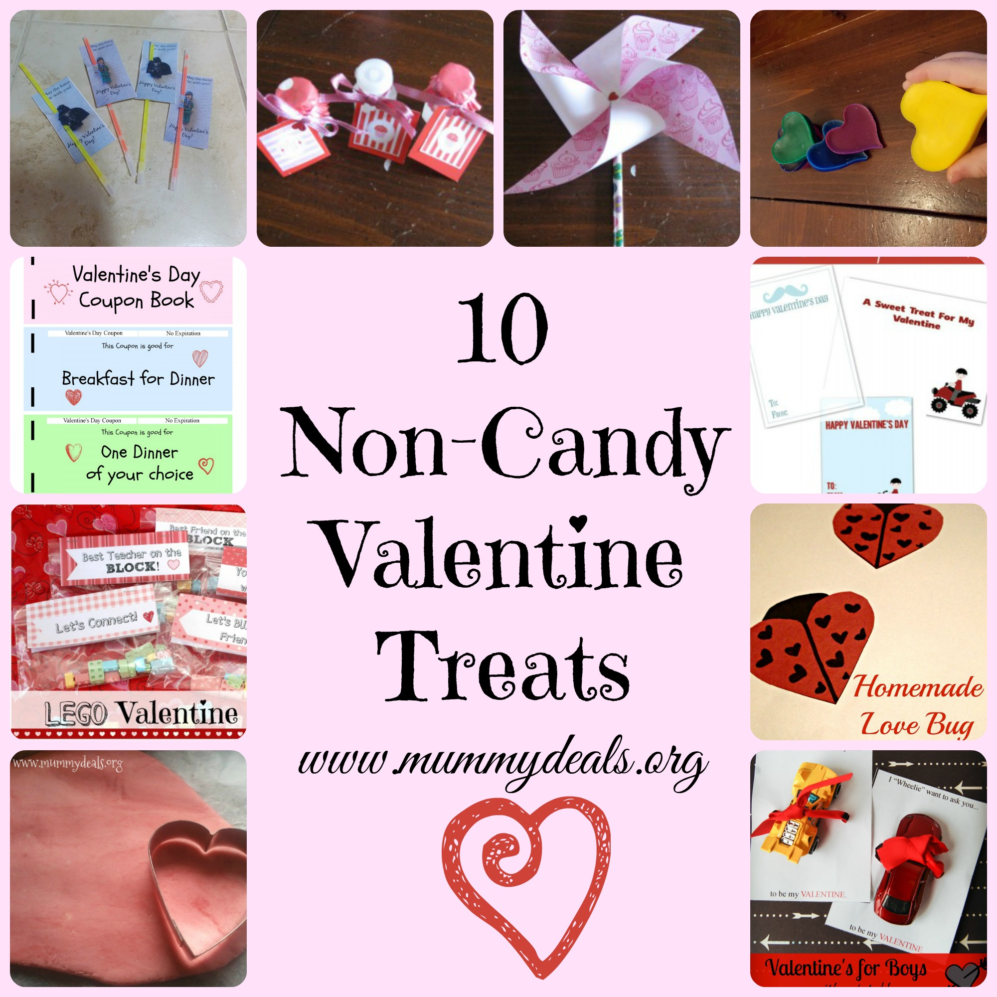 10 Non Candy Valentine Treats