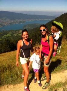 Hiking en famille