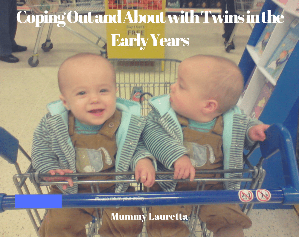 Coping out and about with Twins blog