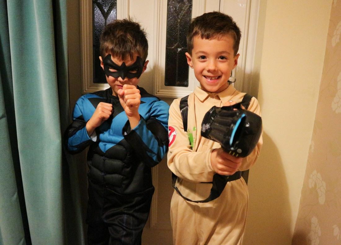 Halloween Siblings Project November 18
