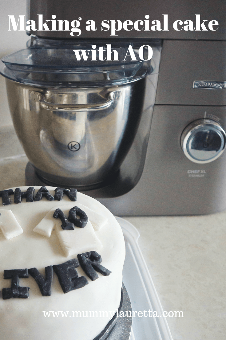Making a special cake with AO Pinterest