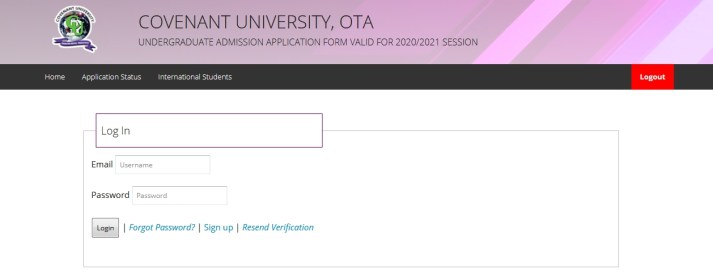 Covenant University Post UTME
