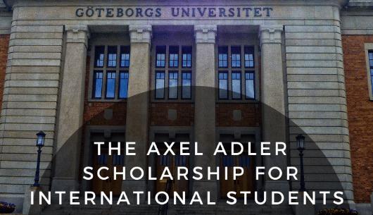 Gothenburg Axel Adler Scholarship
