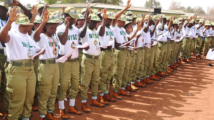 My logo : NYSC Corp Member State Allawee