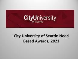 My Logo : City University of Seattle Presidential Merit Award