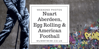 Weekend Photos - Nuart Aberdeen, Egg Rolling & American Football
