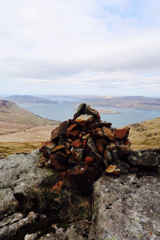 May Day Weekend  on the Isle of Mull Ben More Munro West Coast Scotland