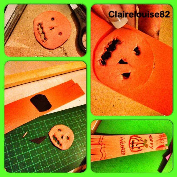 Kids Halloween Crafts Spooky Bookmarks Mummy Of