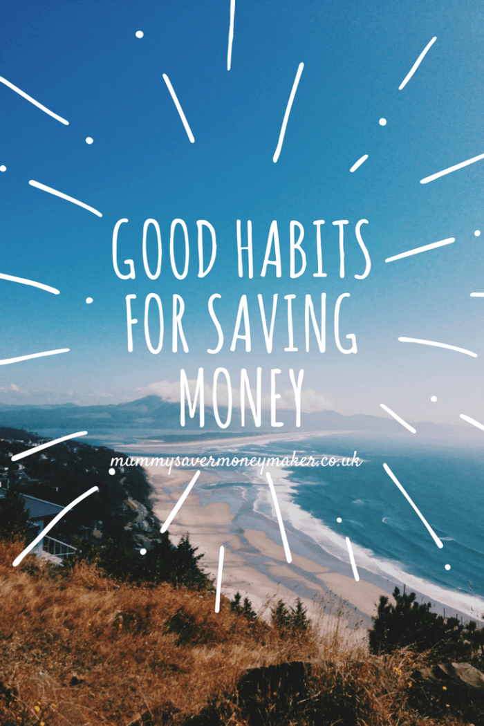 Good habits for saving money
