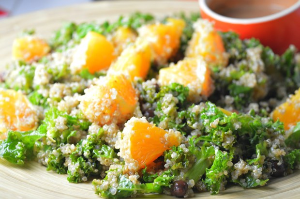 Kale & Orange Quinoa Salad