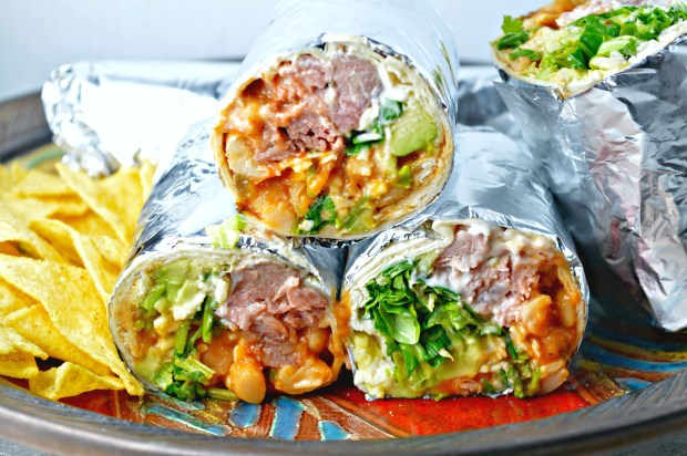 Wild Boar Burritos