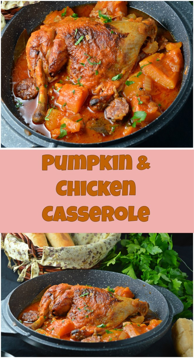 Pumpkin & Chicken Casserole