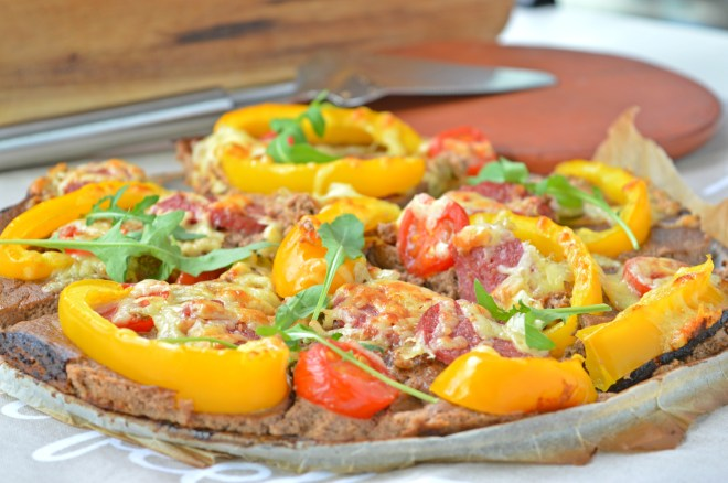 Mushroom & Cauliflower Crust Pizza