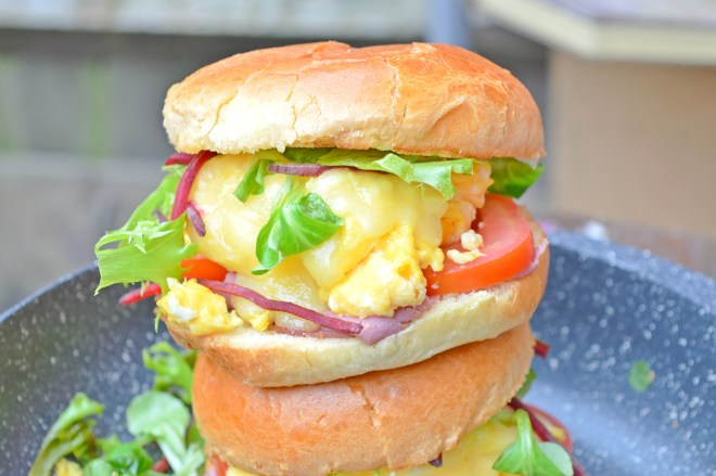 Brisket & Eggs Breakfast Sandwich
