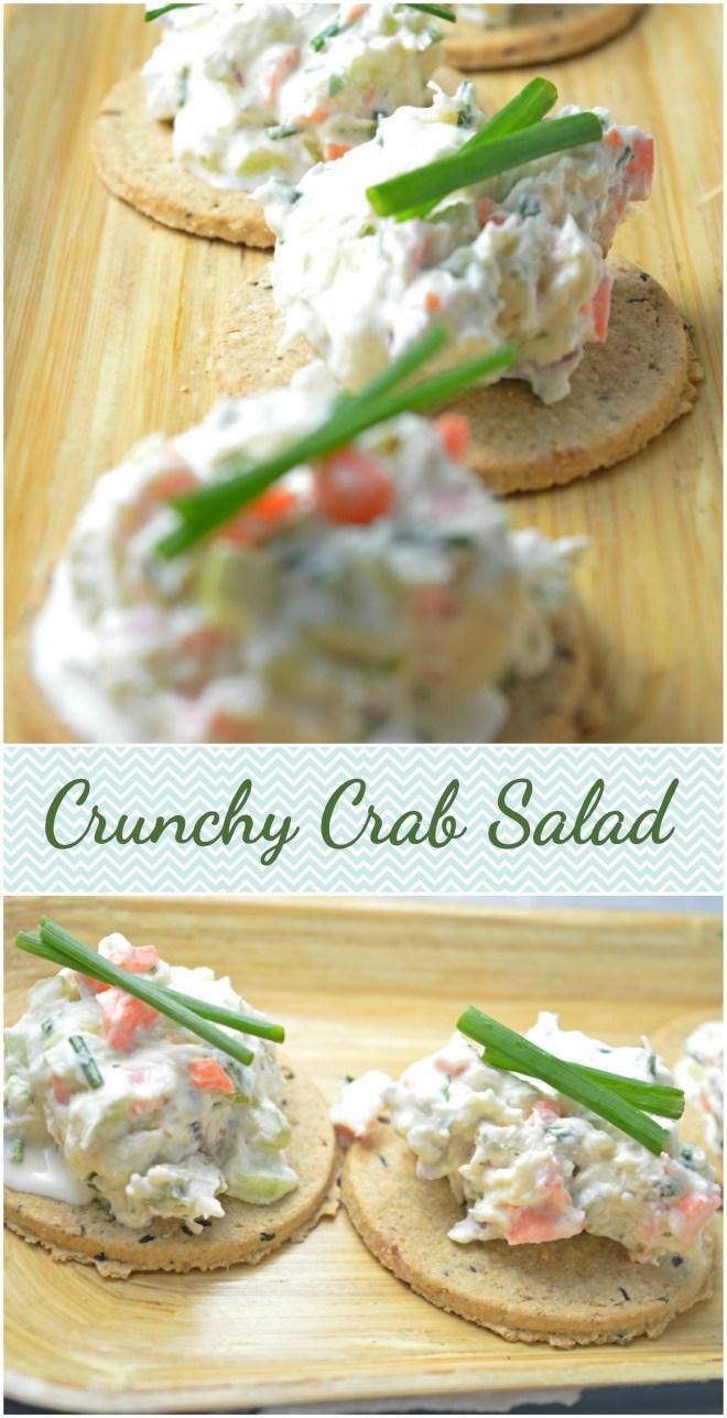 Crunchy Crab Salad
