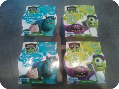 crosse and blackwell jelly pots monster's university