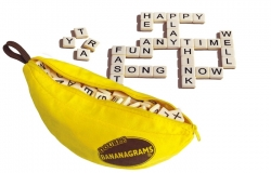 Bananagrams Vocabulary Building and Spelling Improvement Lettered Tile Game