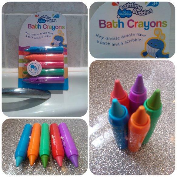 Bath crayons 1