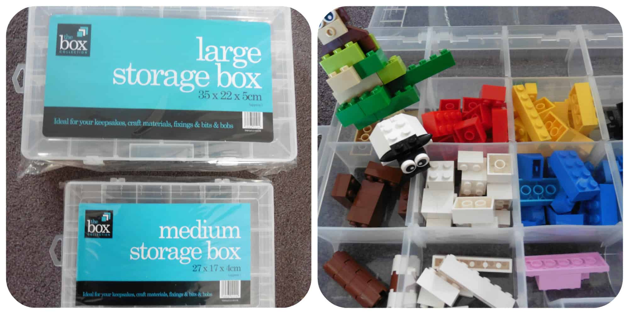These multi purpose storage boxes just screamed Lego at me! They are ideal for any little bits and pieces you need to store such as crafts etc ... & Spring Cleaning with Home Bargains - Mummyu0027s Little StarsMummyu0027s ...