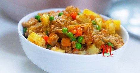 potato and fish pottage